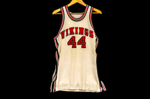 #44 Cream Sand Knit Brand Basketbal Jersey