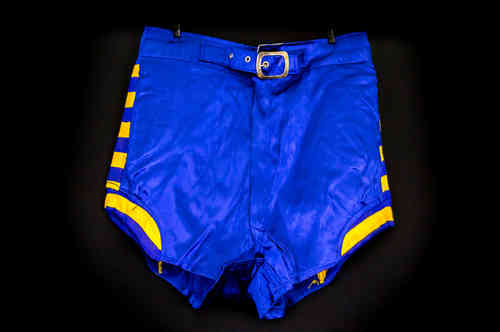 1950's Empire Satin Basketball Shorts