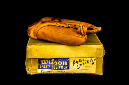 "Wilson Sports Equipment ""Enos Slaughter"" Fielder's Glove in Box"