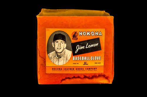 "BOX ONLY: Nokona ""Jim Lemon"" Baseball Glove"