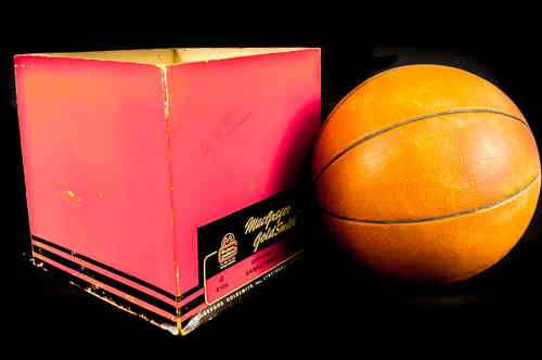 MacGregor GoldSmith Official Basketball in box