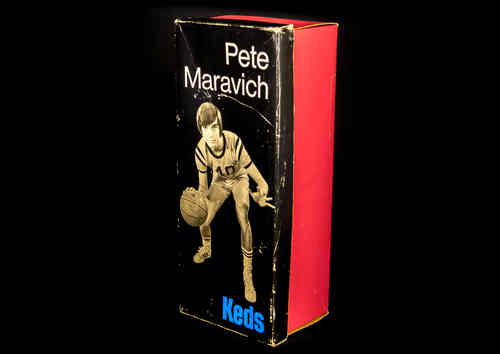 "BOX ONLY Keds ""Pete Maravich"" Mens White Basketball Shoes"