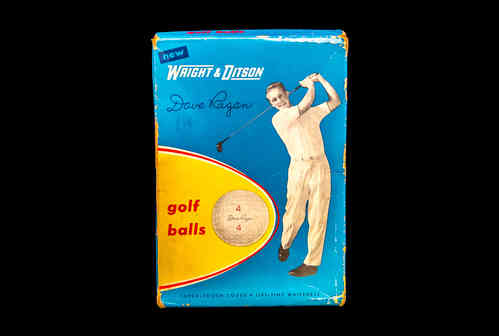 BOX ONLY: Wright & Ditson Dave Ragan Golf Balls