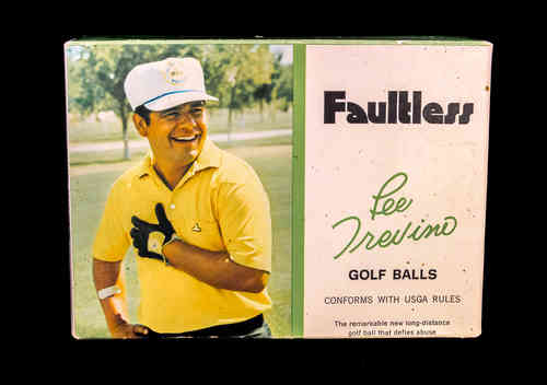 BOX ONLY: Faultless Lee Trevino Golf Balls