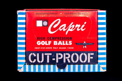 Capri High Compression Golf Balls Display Box
