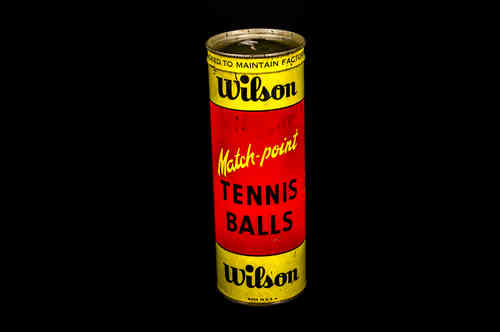SEALED CAN Wilson Match-point Tennis Balls Key wind