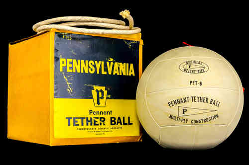 Pennsylvania Pennant Tether Ball in Box
