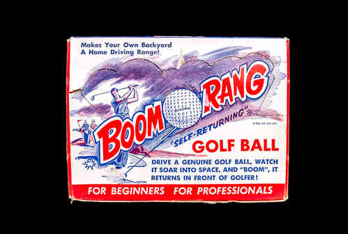 "BoomoRang ""Self-Returning"" Golf Ball"