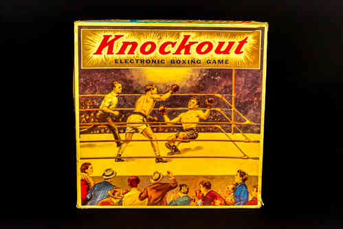 Northwestern Products Knockout Electronic Boxing Game in Box