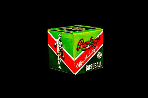 BOX ONLY: Rawlings Official League Baseball