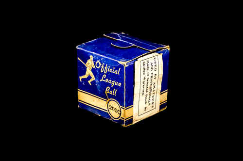 BOX ONLY: Official League Baseball No. 200C