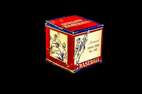 BOX ONLY: National Official League Baseball No. 310
