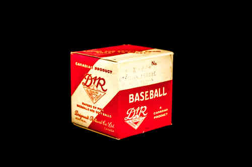 BOX ONLY: Dignault Rolland X-P Official League Baseball