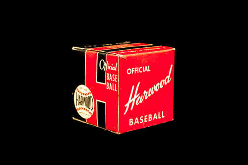 BOX ONLY: Harwood Official Baseball