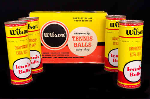 Wilson Tennis Balls Master Box with 4 Key-Wind Cans