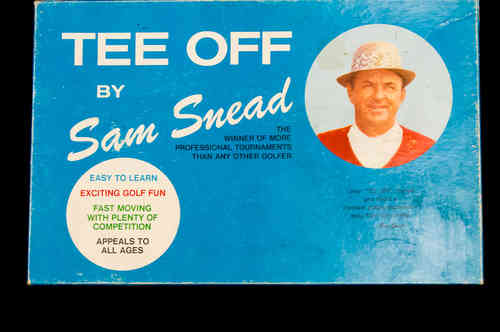 1970's Tee Off by Sam Snead Golf Game in Box