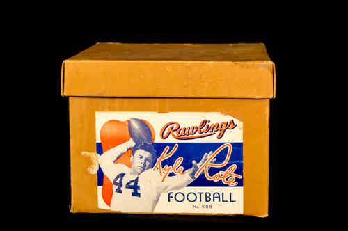 "Rawlings ""Kyle Rote"" Junior Official Football No KRB Picture Box"