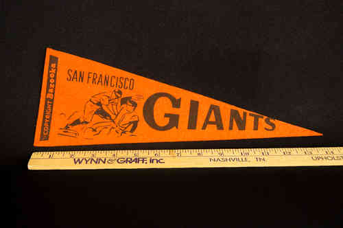 1950's Bazooka Pennant San Francisco Giants 14""
