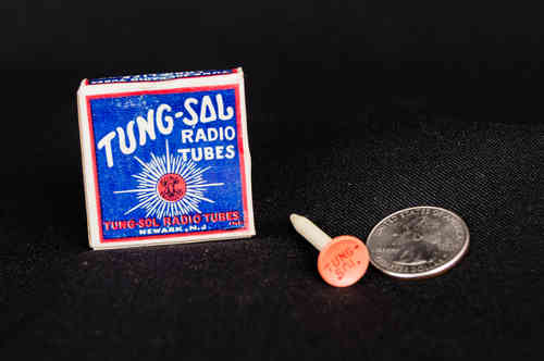 Tung-Sol Radio Tubes Promo Golf Tees in Box
