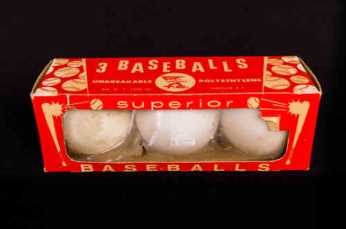 1950's Wiffle Ball Baseball Box