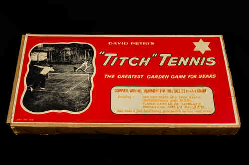 "David Petri's ""Titch"" Tennis Set in Box"