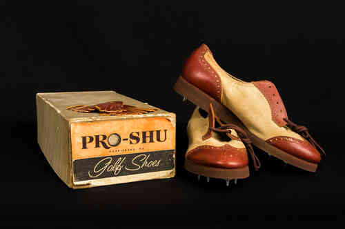 New-In-Box Pro-Shu Ladies Oxford Golf Shoes Size 7B