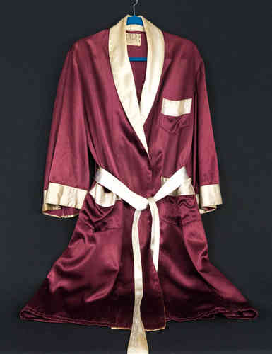 "Benlee Sporting Goods Satin Boxing Robe, ""Bolling AFB"""