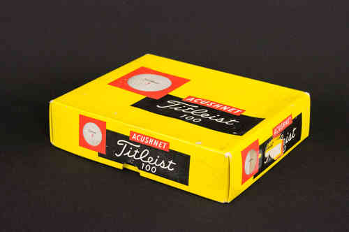 BOX ONLY: Acushnet Titleist 100 Golf Balls