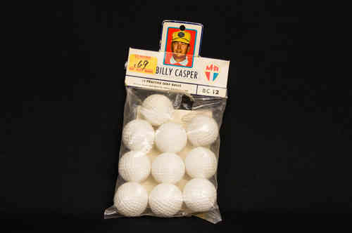 Billy Casper Practice Golf Balls in Package