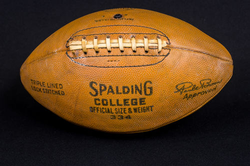 "Rare Unused Spalding 1950's College Model ""Paul Brown"" Football No 334"