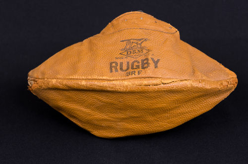 Turn-of-the-Century Leather D&M Rugby Football No 3RF Melon Type