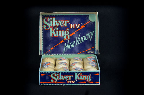 1930's NEW IN BOX Silver King High Velocity Golf Balls