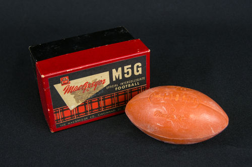 Vintage MacGregor Salesman Sample Football Soap in Box
