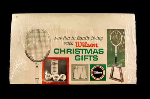 Wilson Christmas Gifts Ad, full color - Tennis