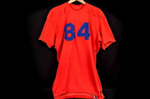 #84 Orange Rawlings Football Jersey
