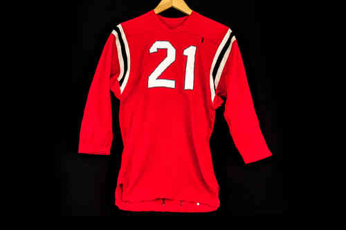 #21 Red Football Jersey