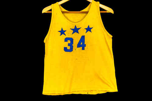 #34 Western Costume Co Youth Basketball Jersey