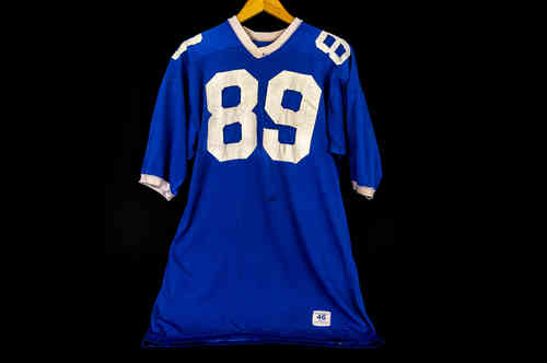 #89 Blue Champion brand Football Jersey