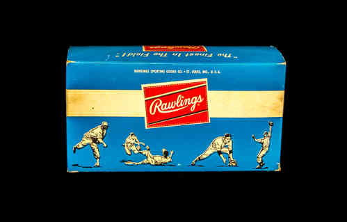BOX ONLY Rawlings Glovolium Baseball Glove Dressing (case of 12-4 oz cans)