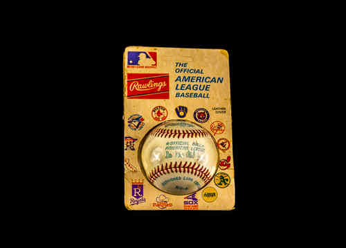 New-In-Package Rawlings Official American League Baseball Lee MacPhail