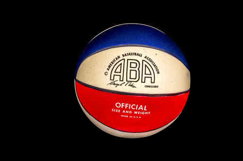 New Red, White and Blue ABA Official Basketball 28.5""