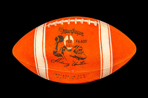 "Unused MacGregor F640T ""Johnny Unitas"" Football"