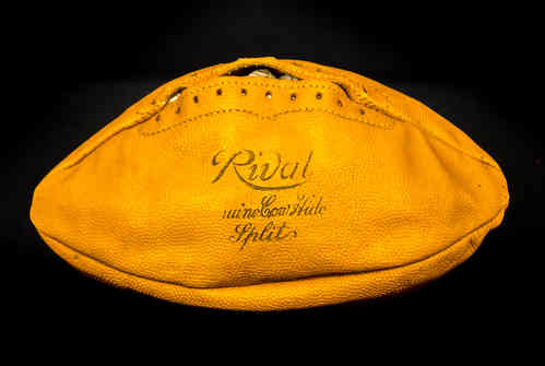 McKinnon Rival Cow Hide Split Football