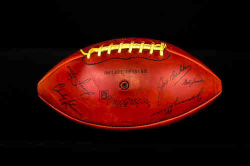 MacGregor NFL Ford PP&K Winner 1964 Football League Commemorative Football
