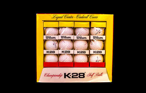 Wilson K-28 Golf Ball Display Box