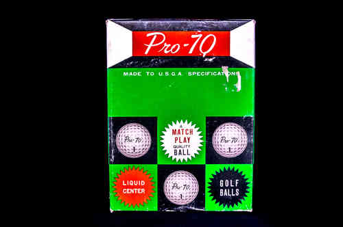 Pro-70 Liquid Center Golf Balls