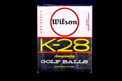 Wilson K-28 Championship Golf Balls Display Case