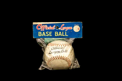 """Official League"" Baseball in Package"