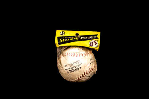 Spalding Pacesetter Baseball in Package