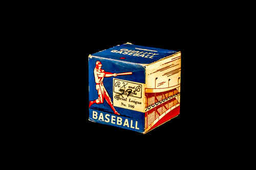BOX ONLY: R. K. and B. Sports Goods Official League Baseball No. 100